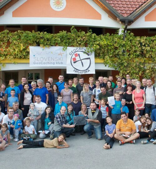 Srečanje s hrvaškimi geolovciMeeting Croatian geocachers